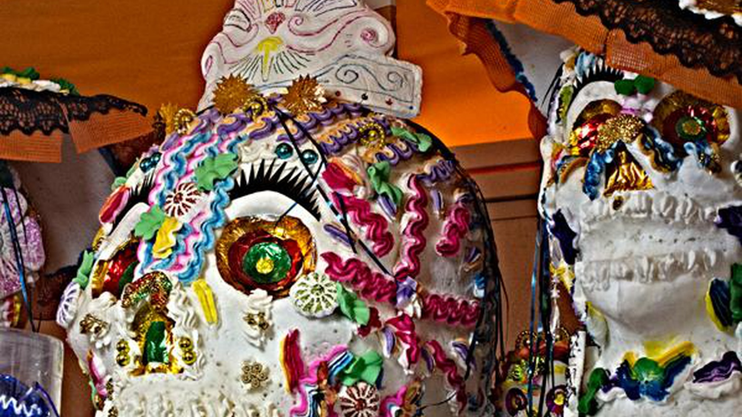 In this story, producer Anayansi Diaz-Cortes looks to find meaning during this year's Day of the Dead celebration.
