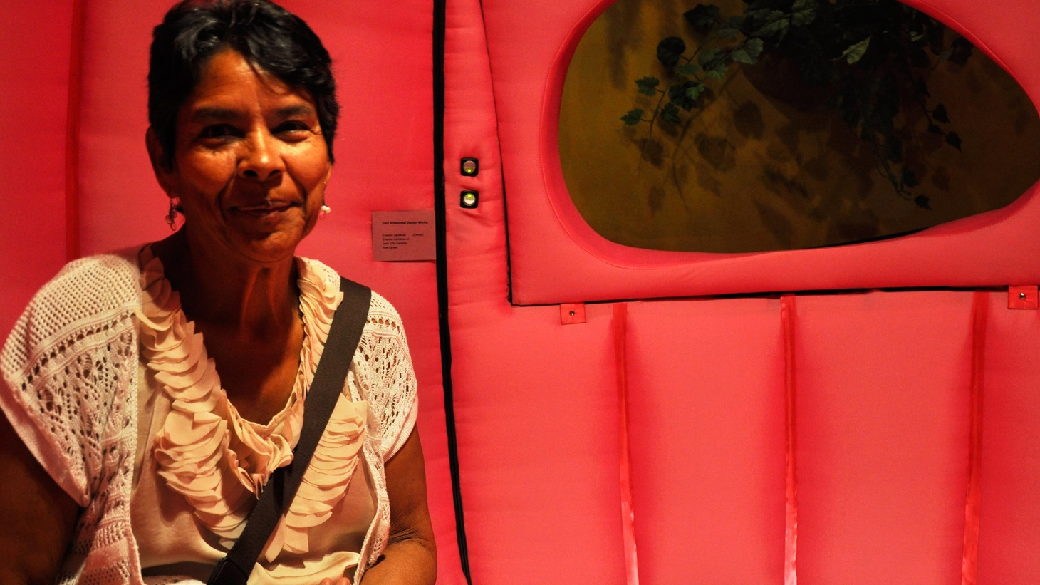 "A profile of Mercedes Moreno, recorded in Sonic Trace's portable sound booth, ""La Burbuja."""