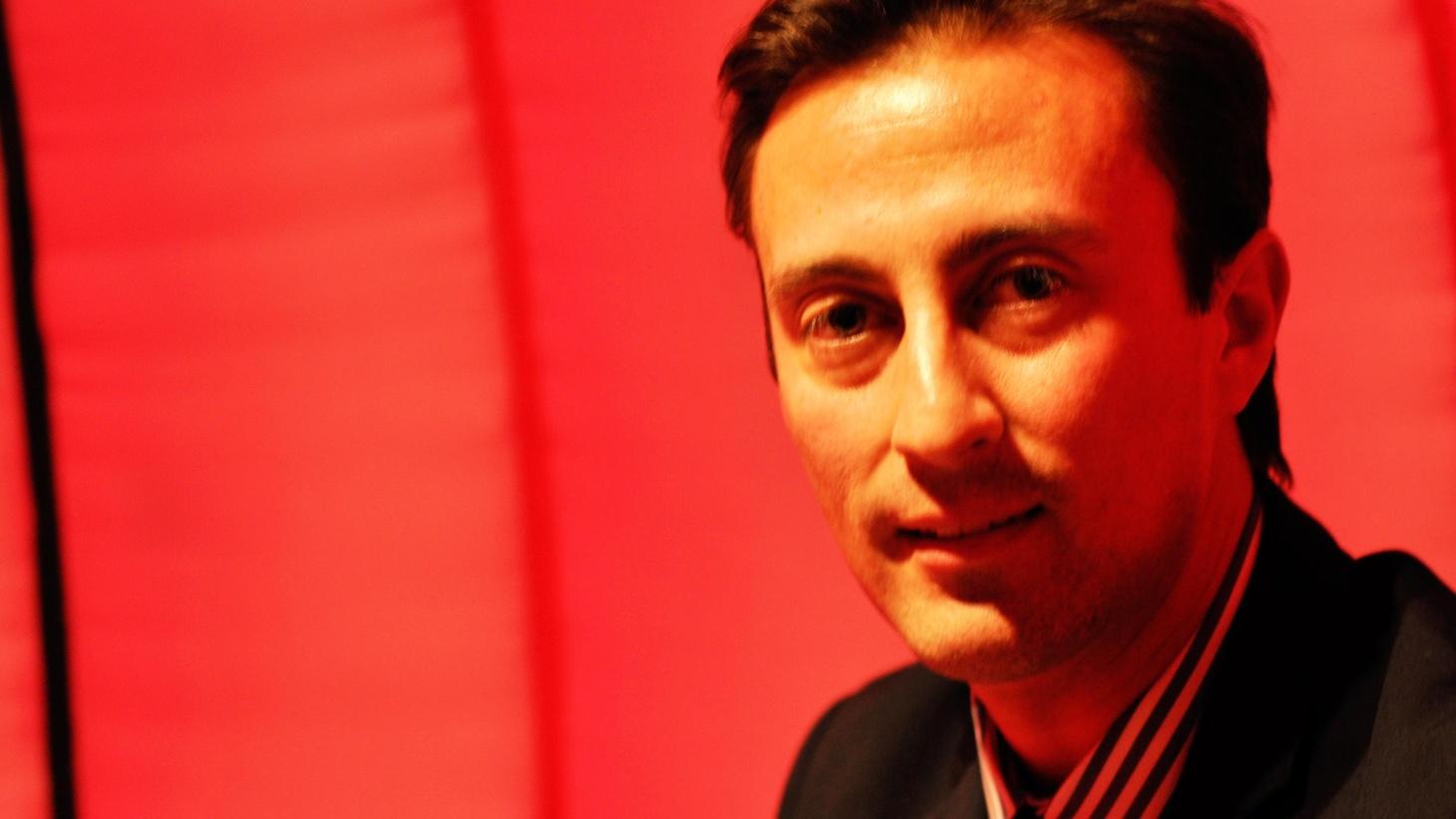 """A profile of Octavio Olivas recorded in SonicTrace's portable sound booth, """"La Burbuja."""""""