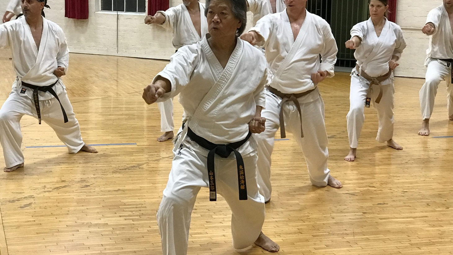 Geoff Yamamoto has practiced karate with the Maryknoll Karate Club on and off for 53 years.