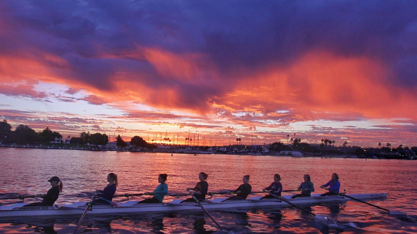 Erica Swensson says rowing is the most painful kind of endurance sport you can do.