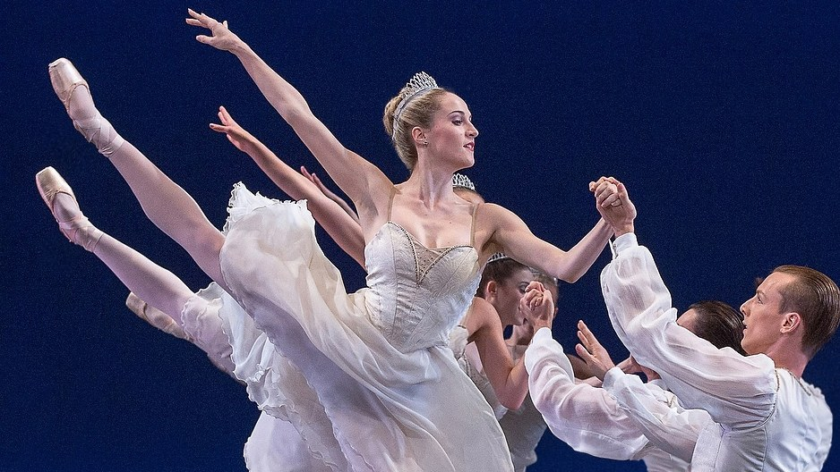 Despite sometimes agonizing pain, a ballet dancer's job is to make the performance look effortless.