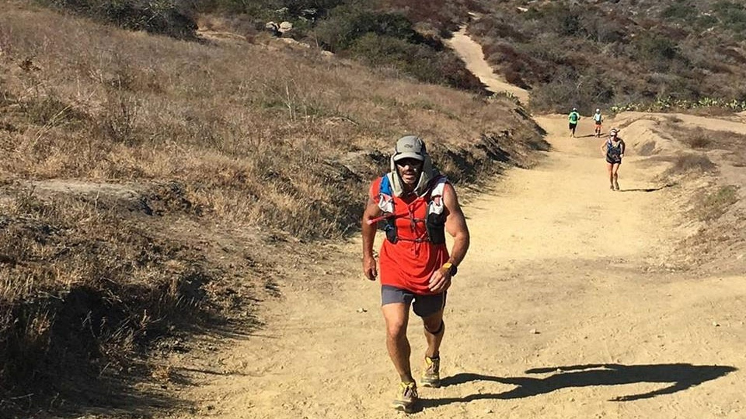 Chris Neiman is an actor by training. He feels he's got 10 percent control of his success as an actor, but in ultrarunning, he says he has 90 percent control – it's on him, his body and his mind. He runs a lot in the Santa Monica Mountains.