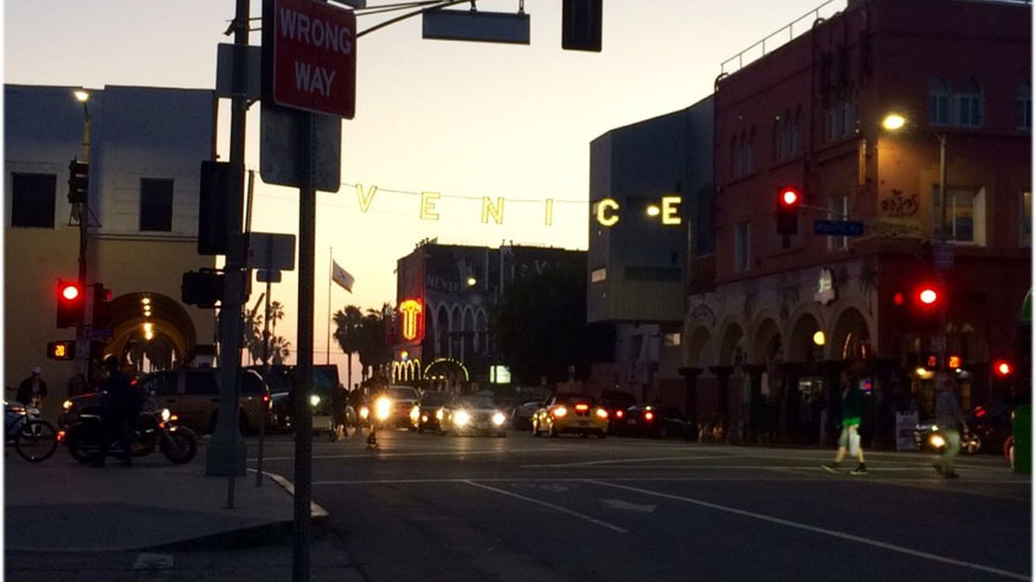 The many sounds of the lively Venice Boardwalk have been a lifelong soundtrack.