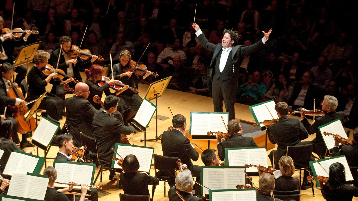 Gustavo Dudamel at The L.A Phil