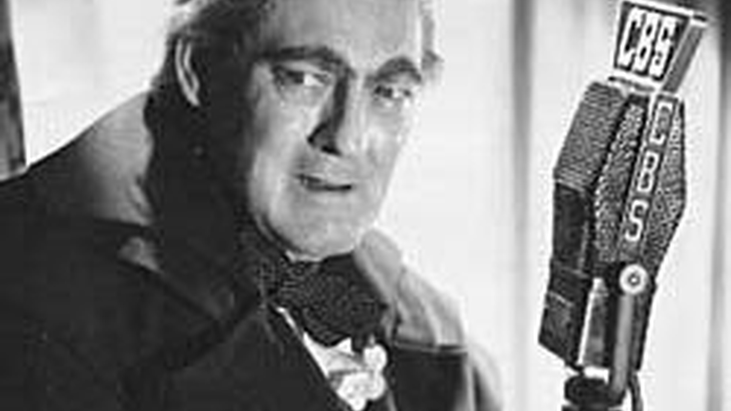 The Dickens classic in a vintage radio performance by legendary actor, Lionel Barrymore, narrated by Orson Welles, with music by Bernard Hermann. (Airs 7-8pm; rebroadcast Christmas Day from 3-4pm)