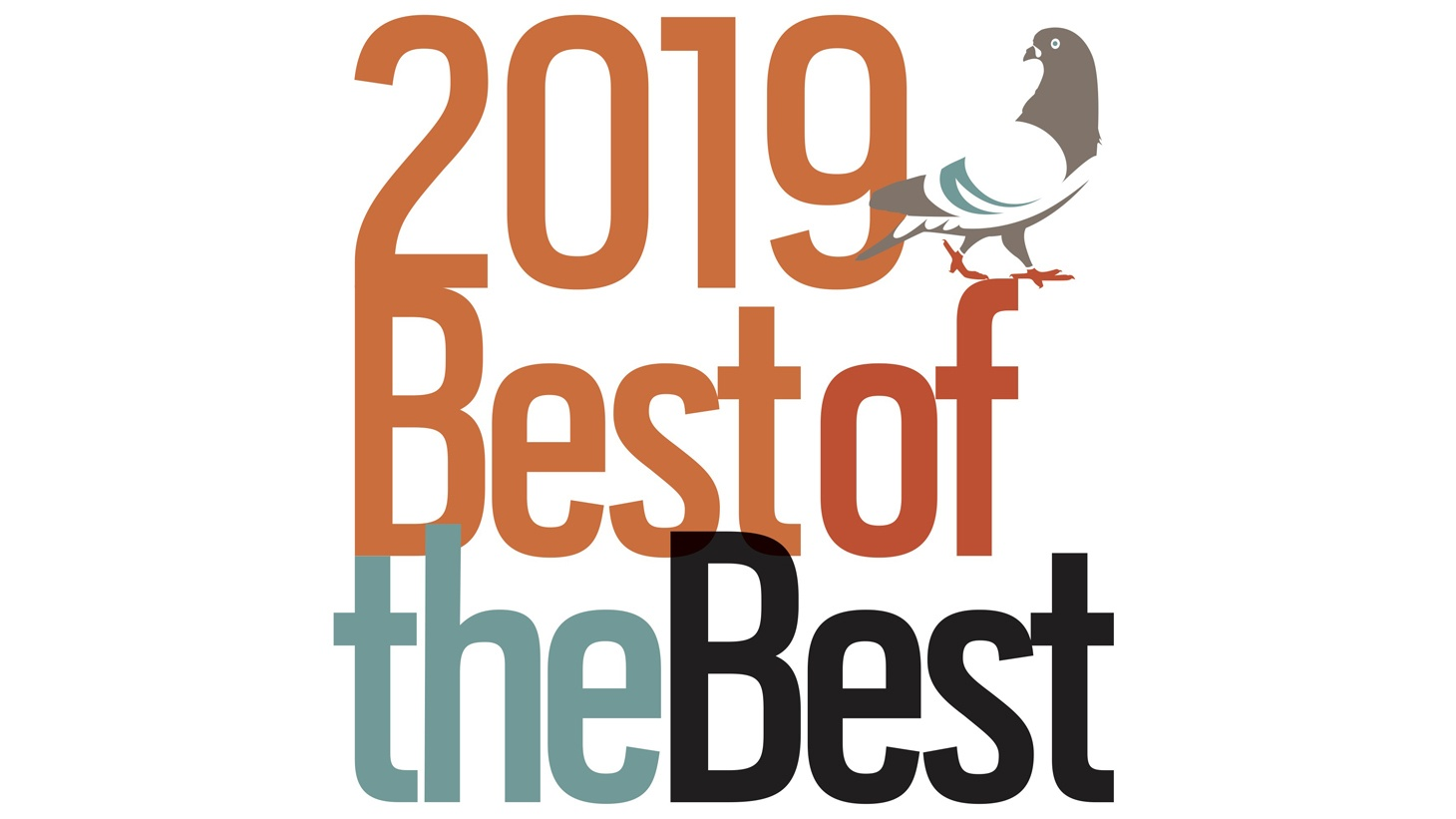 Best of the Best: The 2019 Third Coast Festival Broadcast Logo.