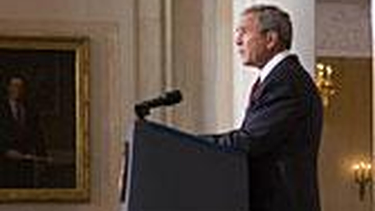 President Bush will speak tothe nation about his veto of the Iraq Spending Bill, which imposes a timelinefor US troop withdrawal in Iraq.   KCRW will carry the President's comments liveat 3:10pm.