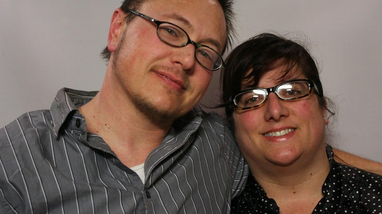Jacob and Diane Anderson-Minshall tell the story of how they met 20 years ago and how Jacob's decision to transition affected their relationship.