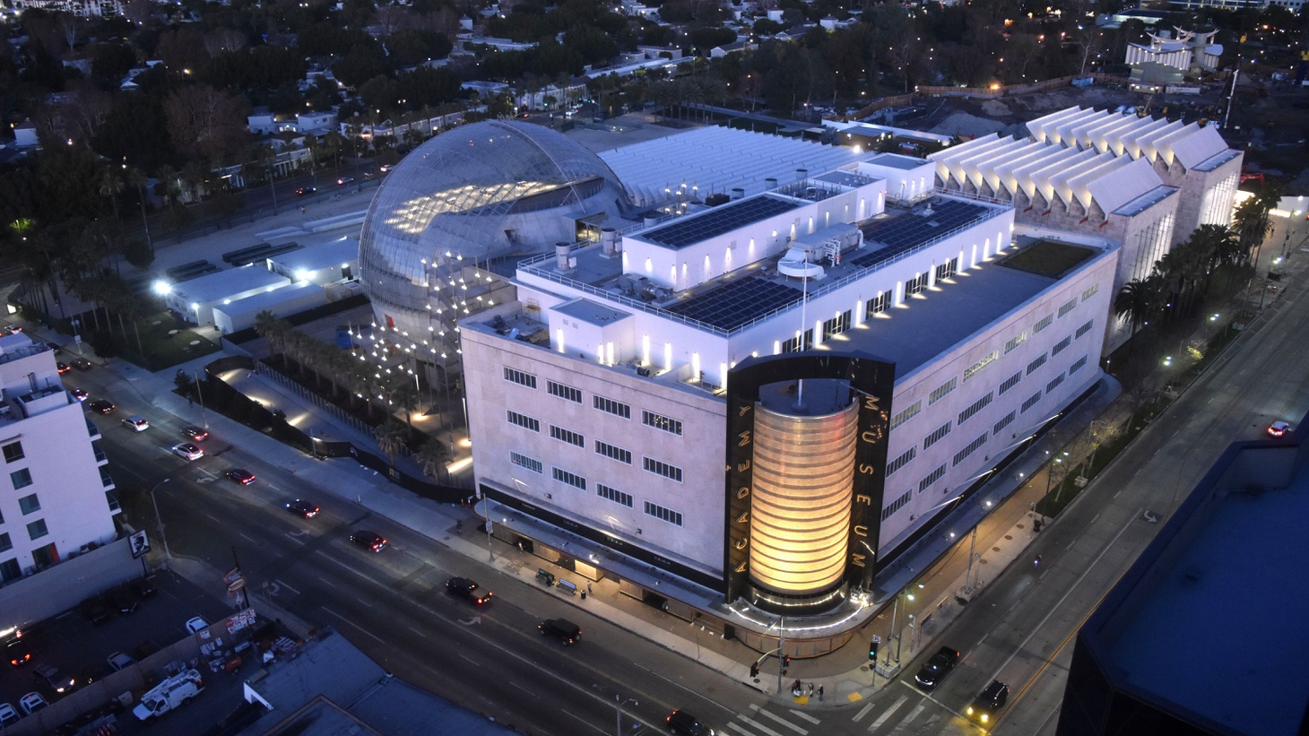 The Academy Museum of Motion Pictures, which sits on the corner of Wilshire and Fairfax, opened on September 30.