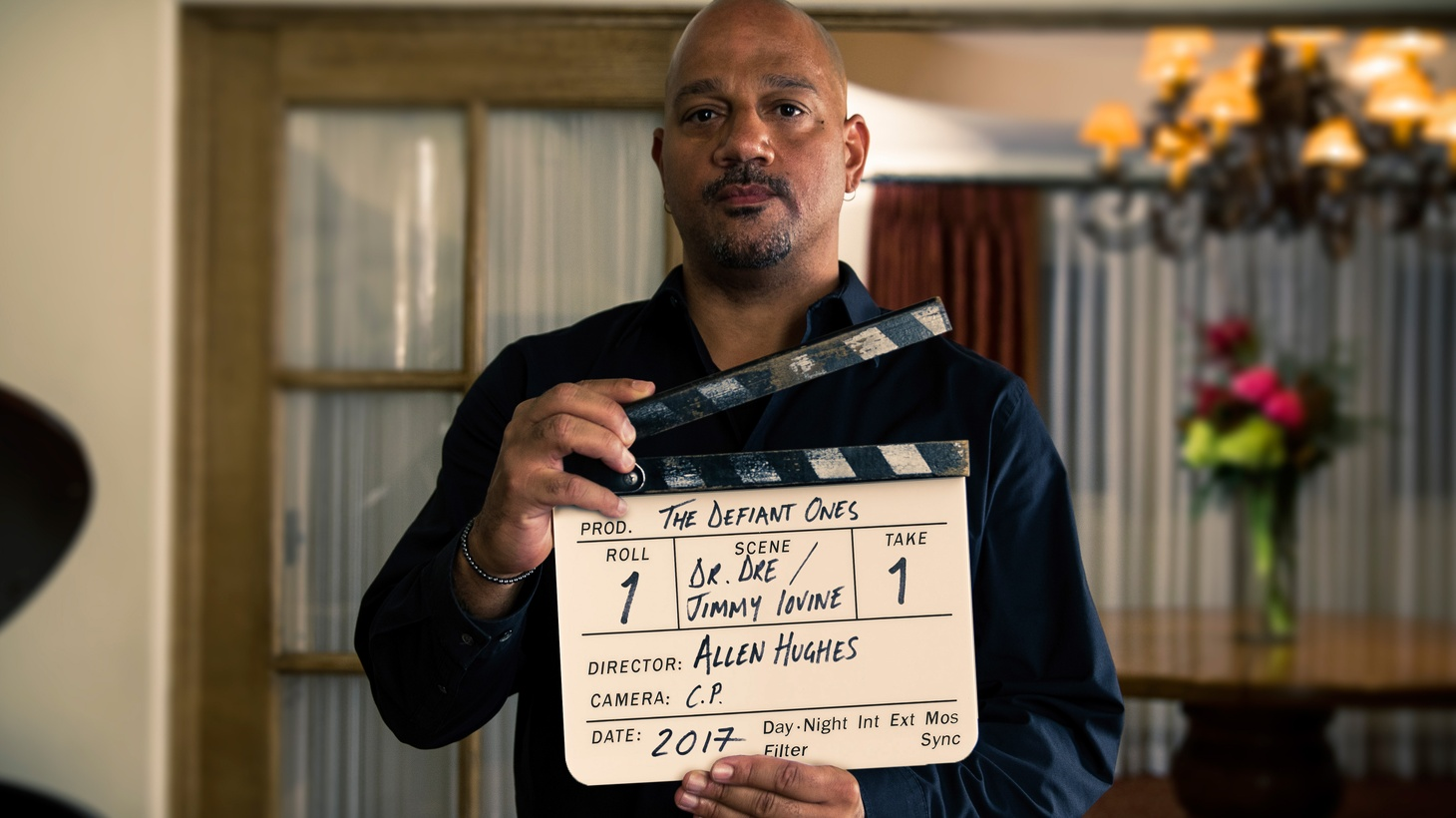 Filmmaker Allen Hughes has been friends with music moguls Dr. Dre and Jimmy Iovine for years. But when he set out to make the new HBO documentary series The Defiant Ones-- about their careers -- Hughes found that getting them to open up on camera wasn't easy.