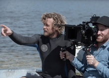 As a director, Simon Baker rides the waves and takes a 'Breath'