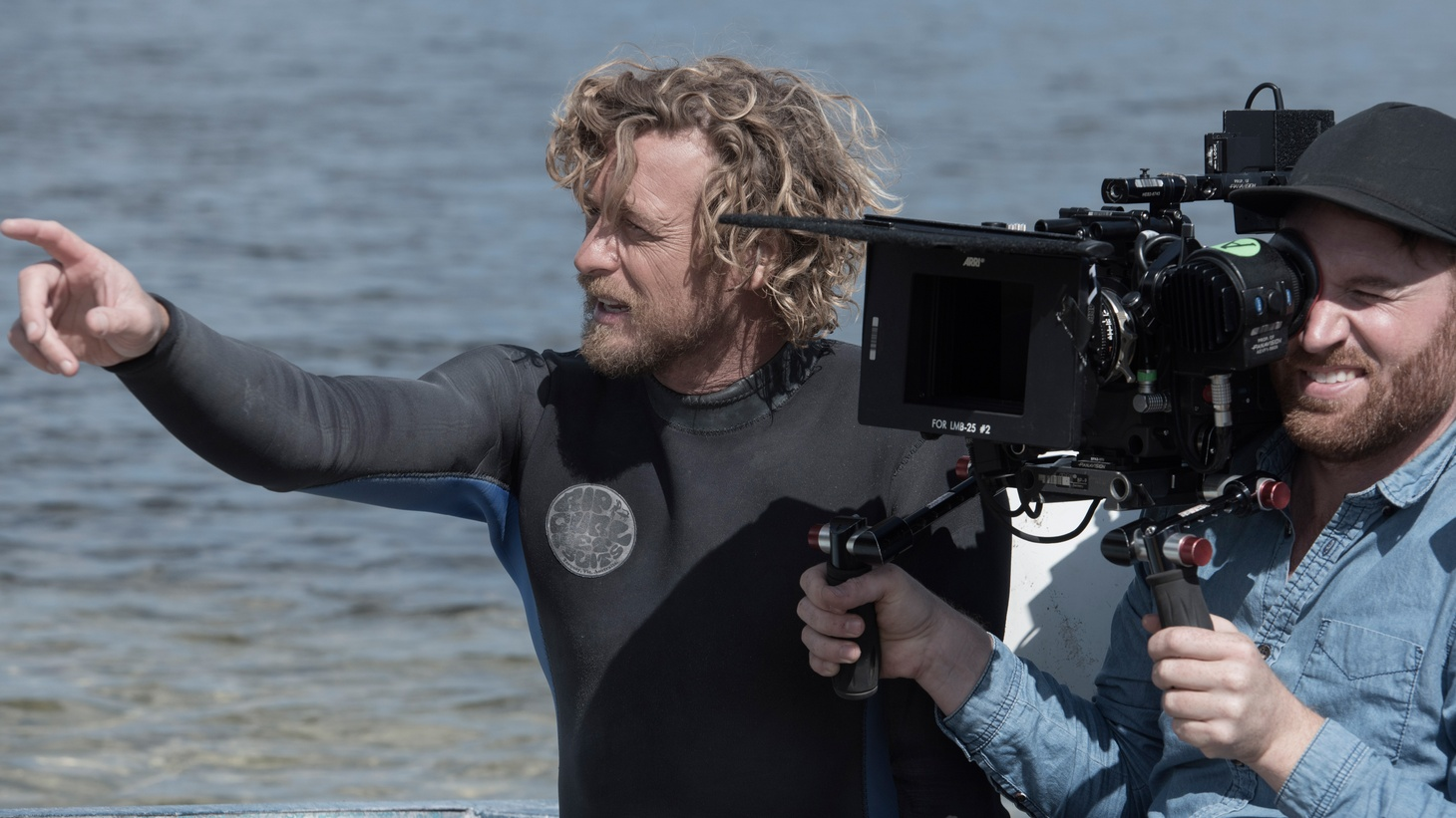 After seven seasons starring in the CBS series 'The Mentalist,' Simon Baker made his feature directing debut with the coming-of-age film, 'Breath.'