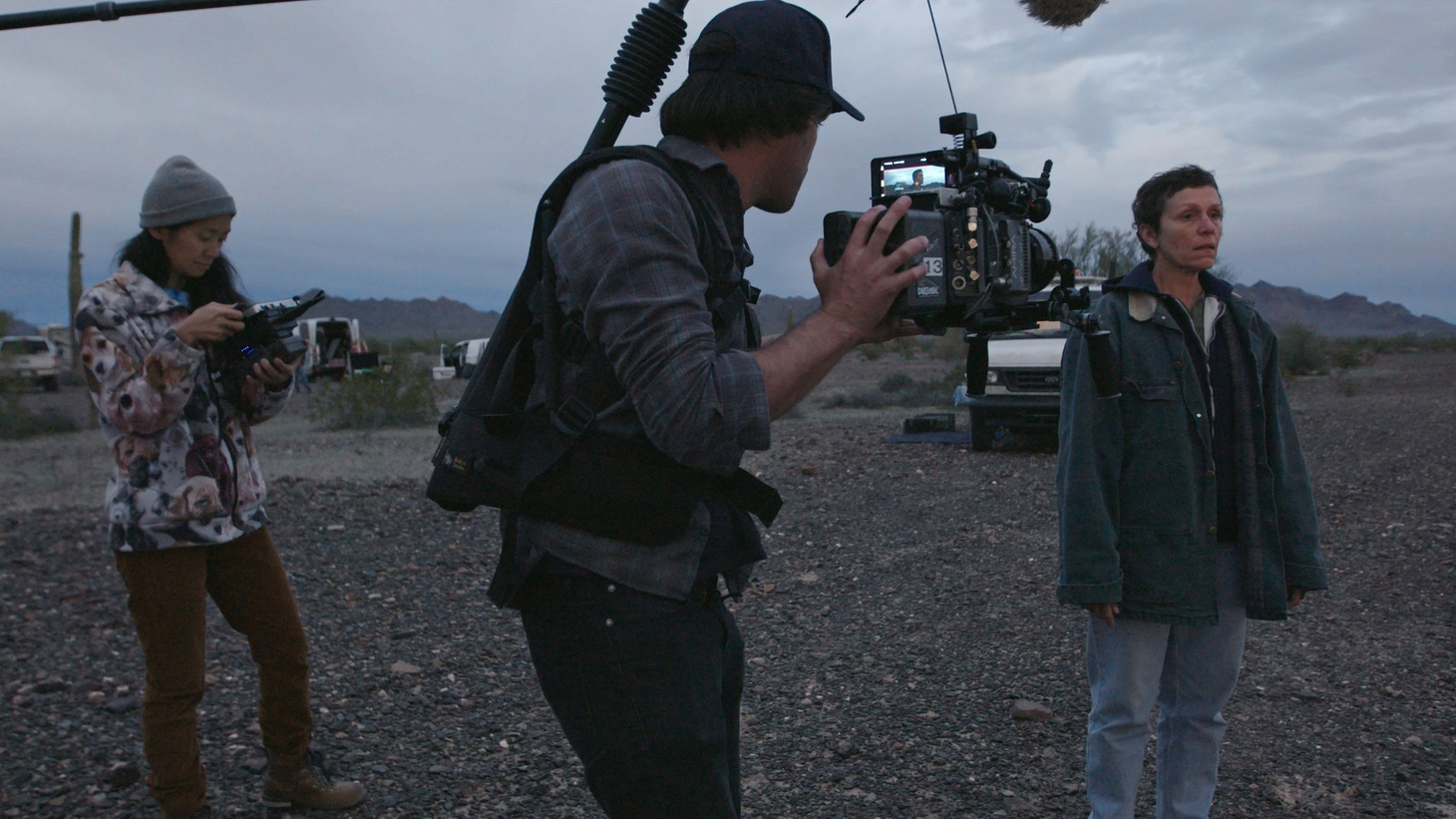 """Nomadland"" and its director Chloé Zhao are both considered frontrunners in this year's Oscar race. But with theaters closed for most of the past year, how many people have actually seen it?"