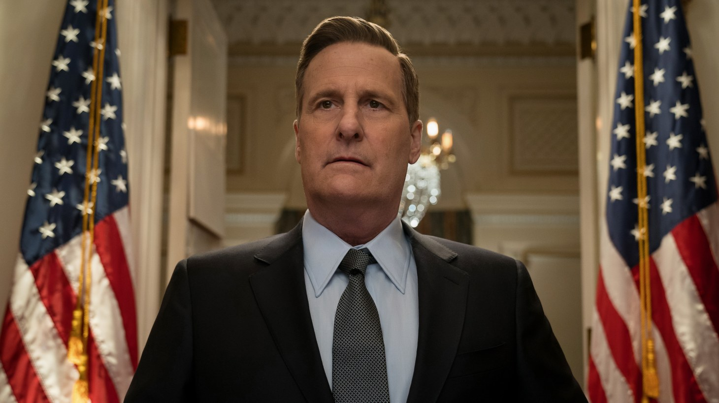 """Jeff Daniels plays FBI director James Comey in Showtime's limited series """"The Comey Rule."""""""