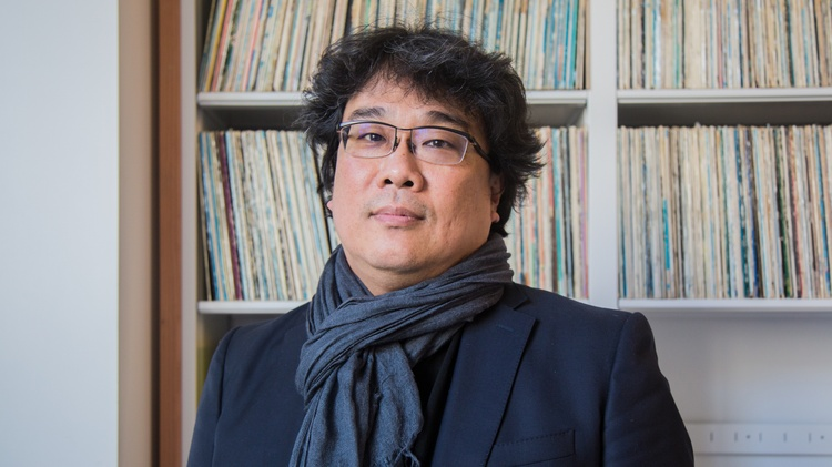 Bong Joon Ho on making 'Parasite,' then making history