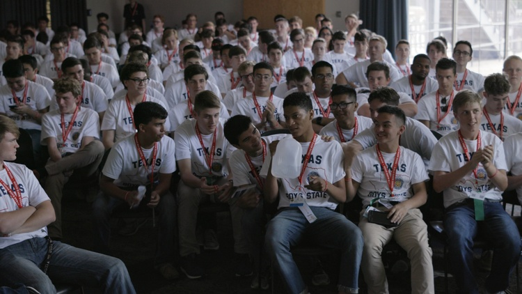 "Amanda McBaine and Jesse Moss made their biggest documentary yet with ""Boys State,"" a process that required many leaps of faith, from securing funding to showing up at Sundance without…"