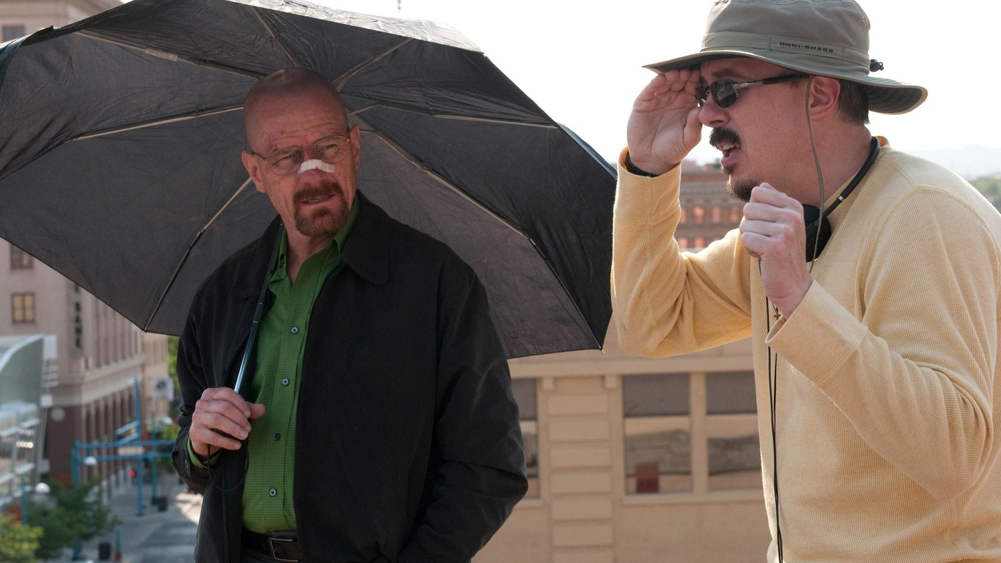 'Breaking Bad' Creator Vince Gilligan says to be a show-runner you need to be a cult leader and that the idea that there's a rivalry between his show and 'Mad Men' is false.