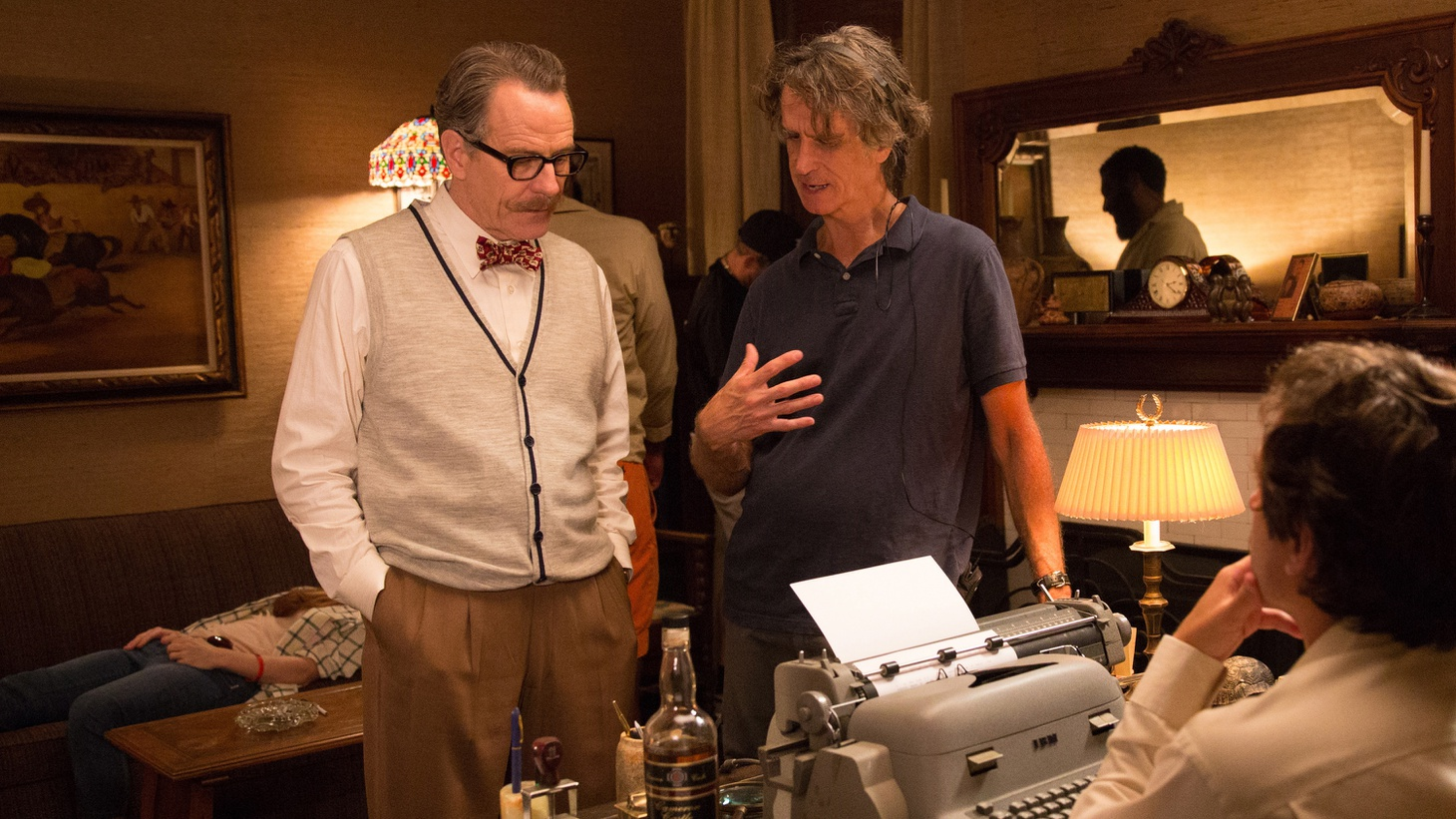 Bryan Cranston and Trumbo director Jay Roach tell us how they ended up making a biopic about blacklisted screenwriter Dalton Trumbo and what drew them to the story of Hollywood's darkest hour.