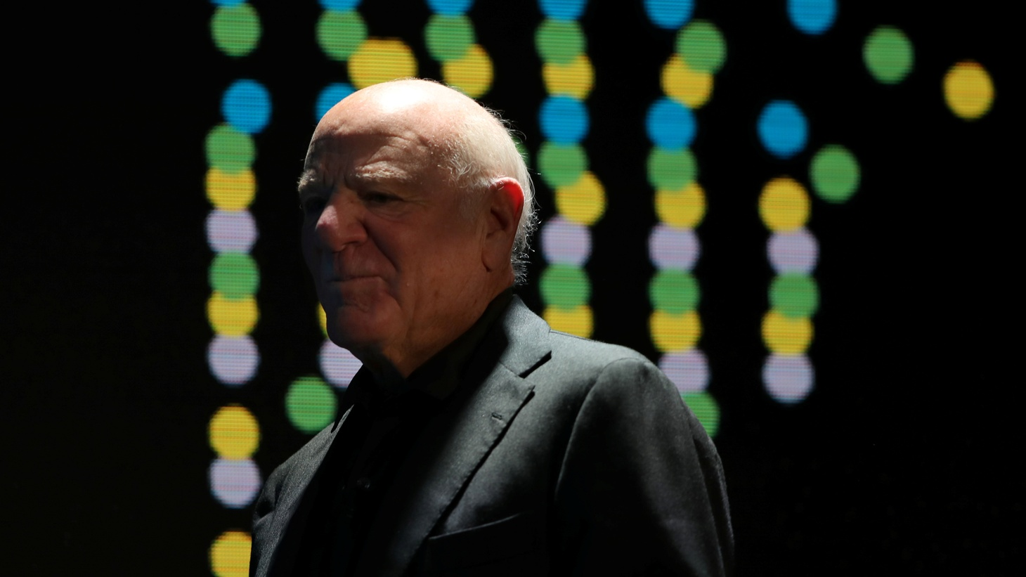 Barry Diller, Chairman and Senior Executive of IAC/InterActiveCorp and Expedia, Inc., looks on at the Wall Street Journal Digital Conference in Laguna Beach, California, U.S., October 17, 2017.