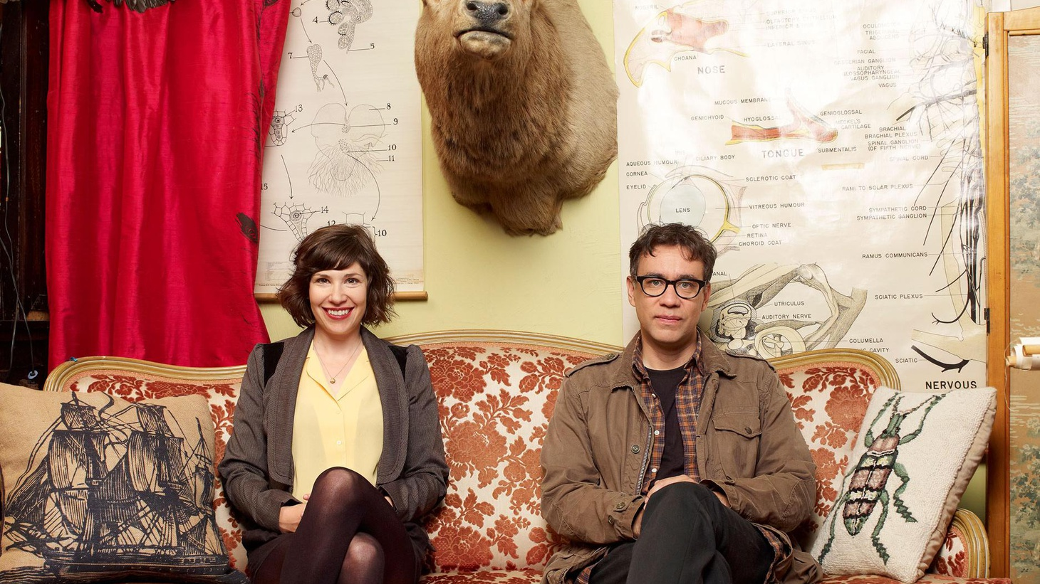 The creators and stars of 'Portlandia' talk about turning their comedy videos into IFC's biggest hit. Plus, does IMDB perpetuate ageism in Hollywood?