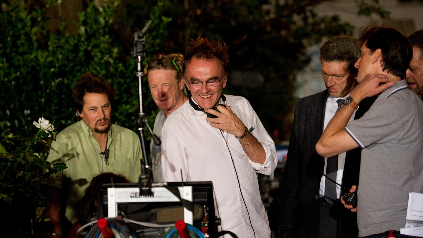 "Danny Boyle directs his new film ""Trance"" while also creating the London Olympics Opening Ceremony."