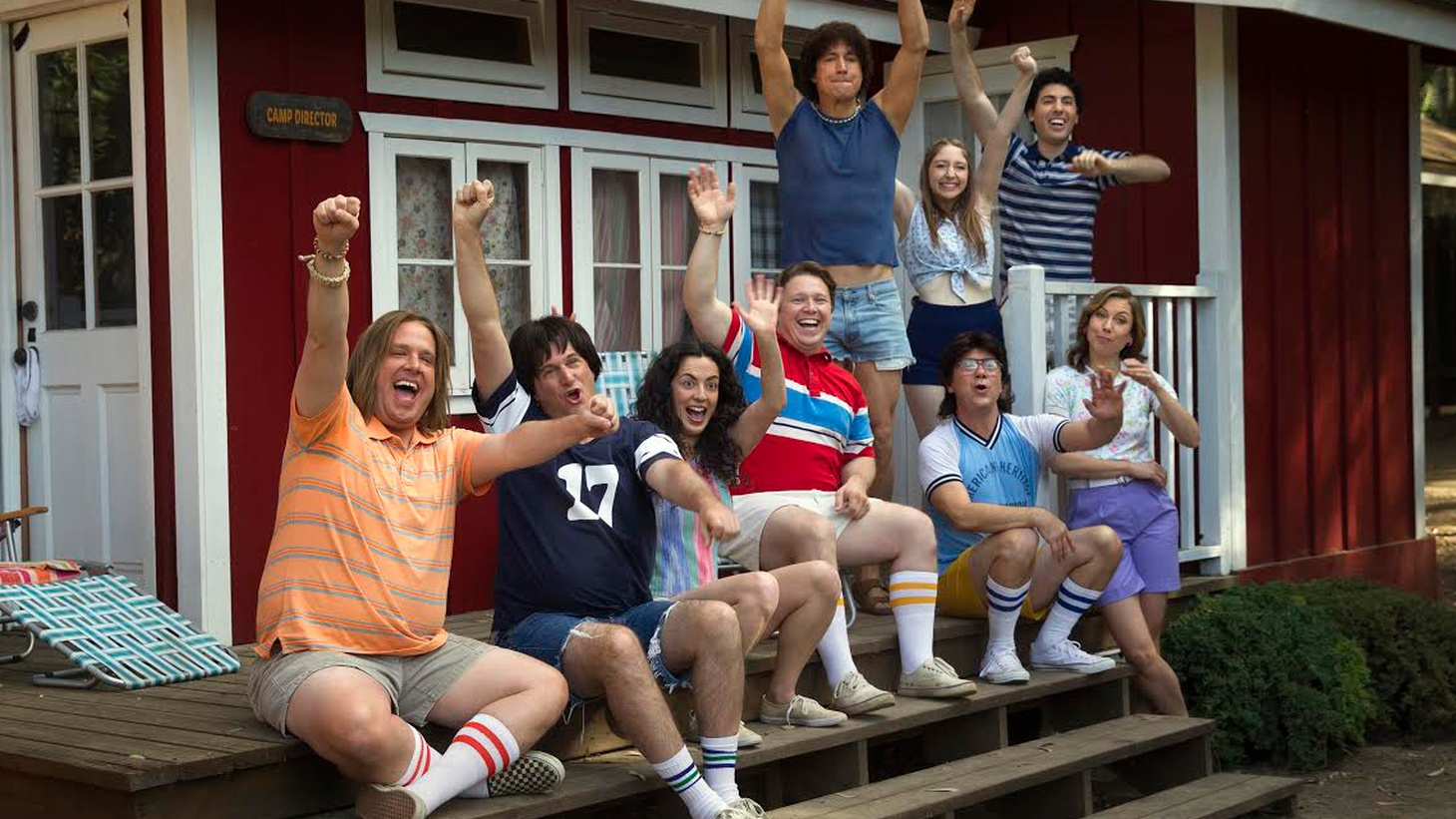 The 2001 film Wet Hot American Summer tanked at the box office, but acquired a cult following as many members of its ensemble cast went on to have huge careers. Now director David Wain has reunited the entire cast for a new series on Netflix, Wet Hot American Summer: First Day of Camp.