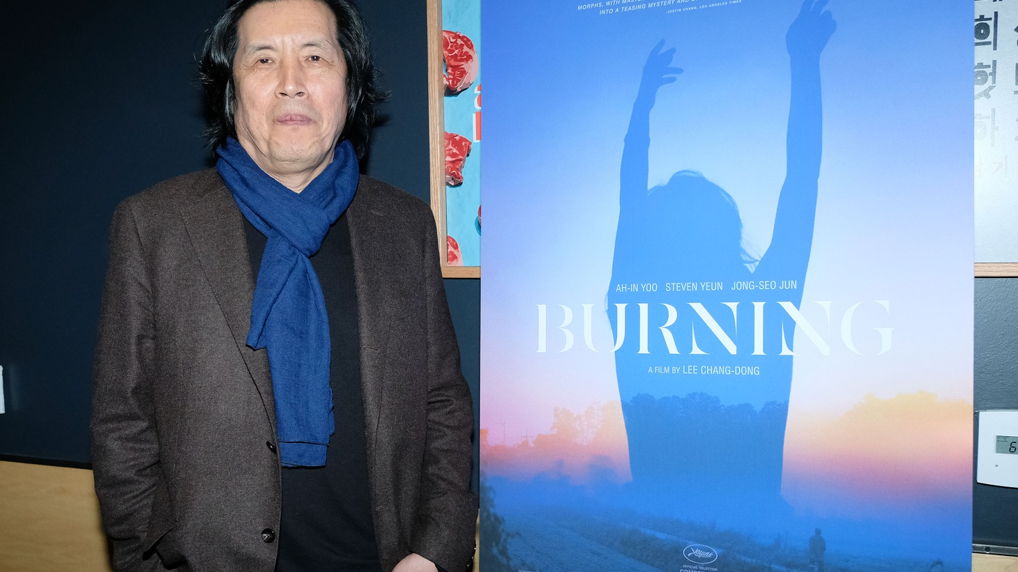 'Burning' director Lee Chang-dong.