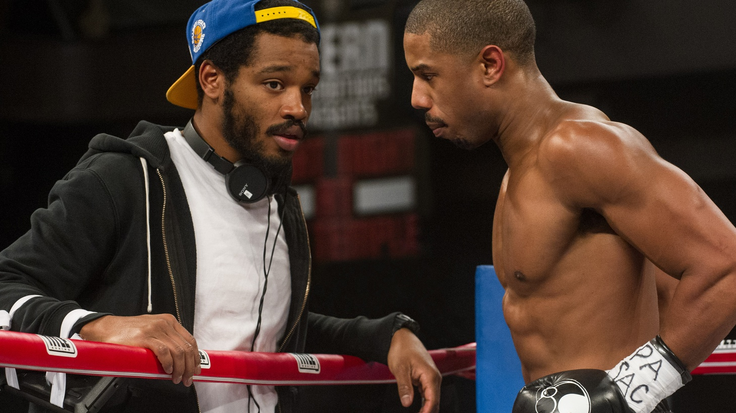 Creed director Ryan Coogler wasn't even born when most of the Rocky movies were made, but he fell in love with the franchise thanks to his father. Coogler tells us how he went from football player to filmmaker, and how he convinced Sylvester Stallone to go another round with Creed.