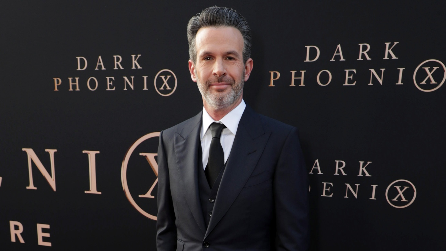 Director Simon Kinberg at the premiere of DARK PHOENIX.
