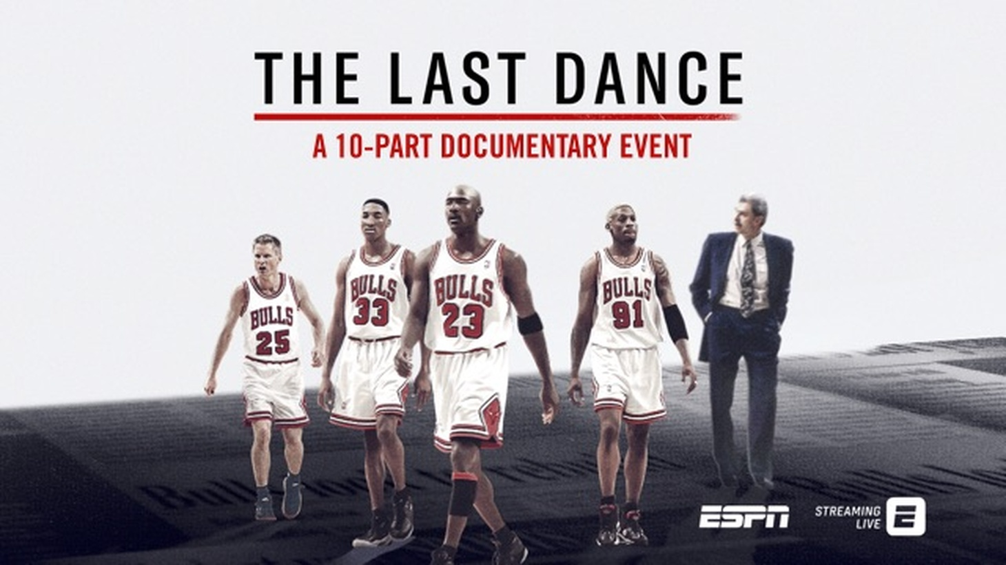 """The Last Dance"" follows the Chicago Bulls as they seek their sixth NBA championship in eight years."