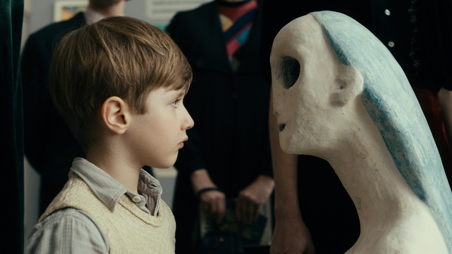 Cai Cohrs as Young Kurt Barnert in 'Never Look Away.'