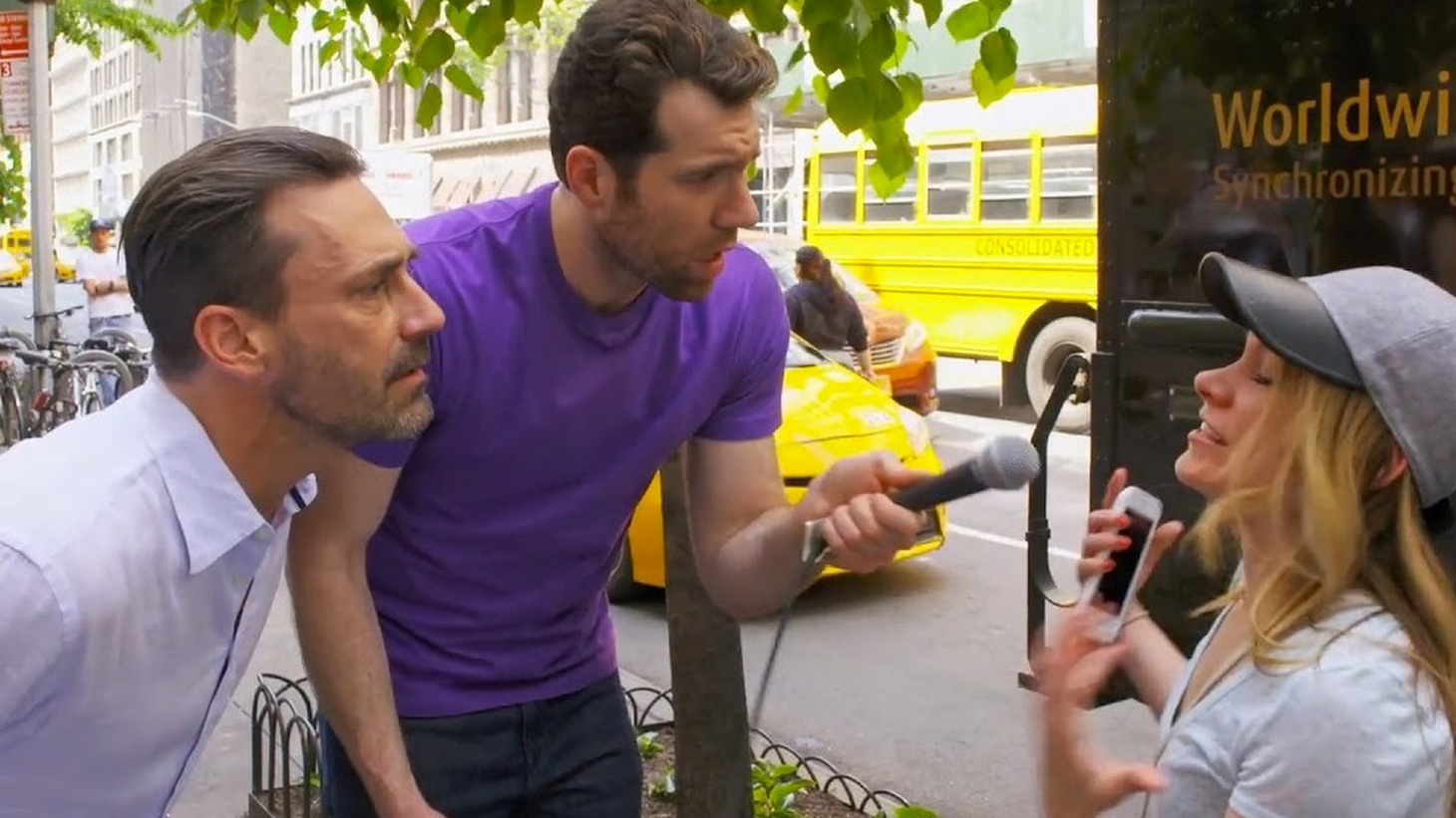 Billy Eichner has had recent roles in Hulu's Difficult People, Netflix's Friends from College, and in the upcoming season of American Horror Story on FX. But it's through his truTV game show, Billy on the Street, that he's in the Emmy race. He tells us about the evolution of his person-on-the-street antics and why not every celebrity is a good fit for the show.
