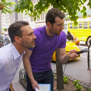 For Billy Eichner, his time 'On the Street' got him an Emmy nom