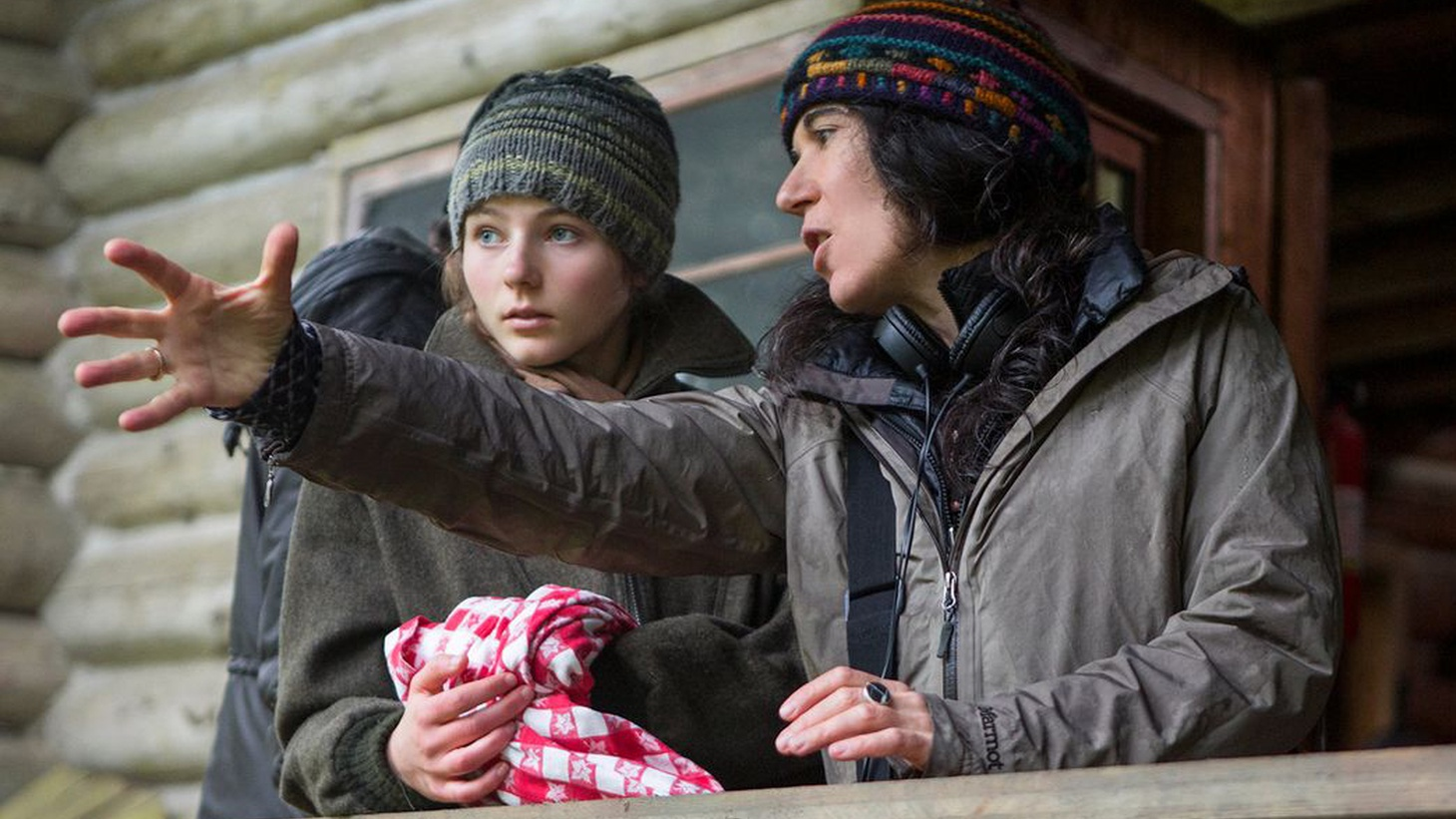 Debra Granik's new movie, 'Leave No Trace' follows a father and daughter living completely off the grid, in the woods.