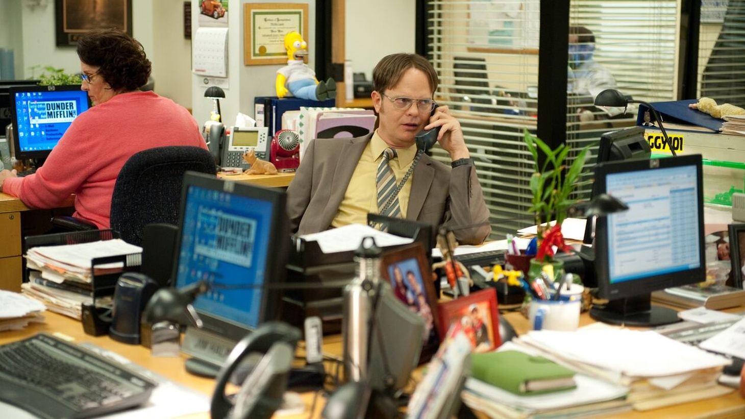"""The show with the most minutes streamed in 2020? Forget the new stuff, according to Nielsen. """"The Office"""" still reigns supreme."""