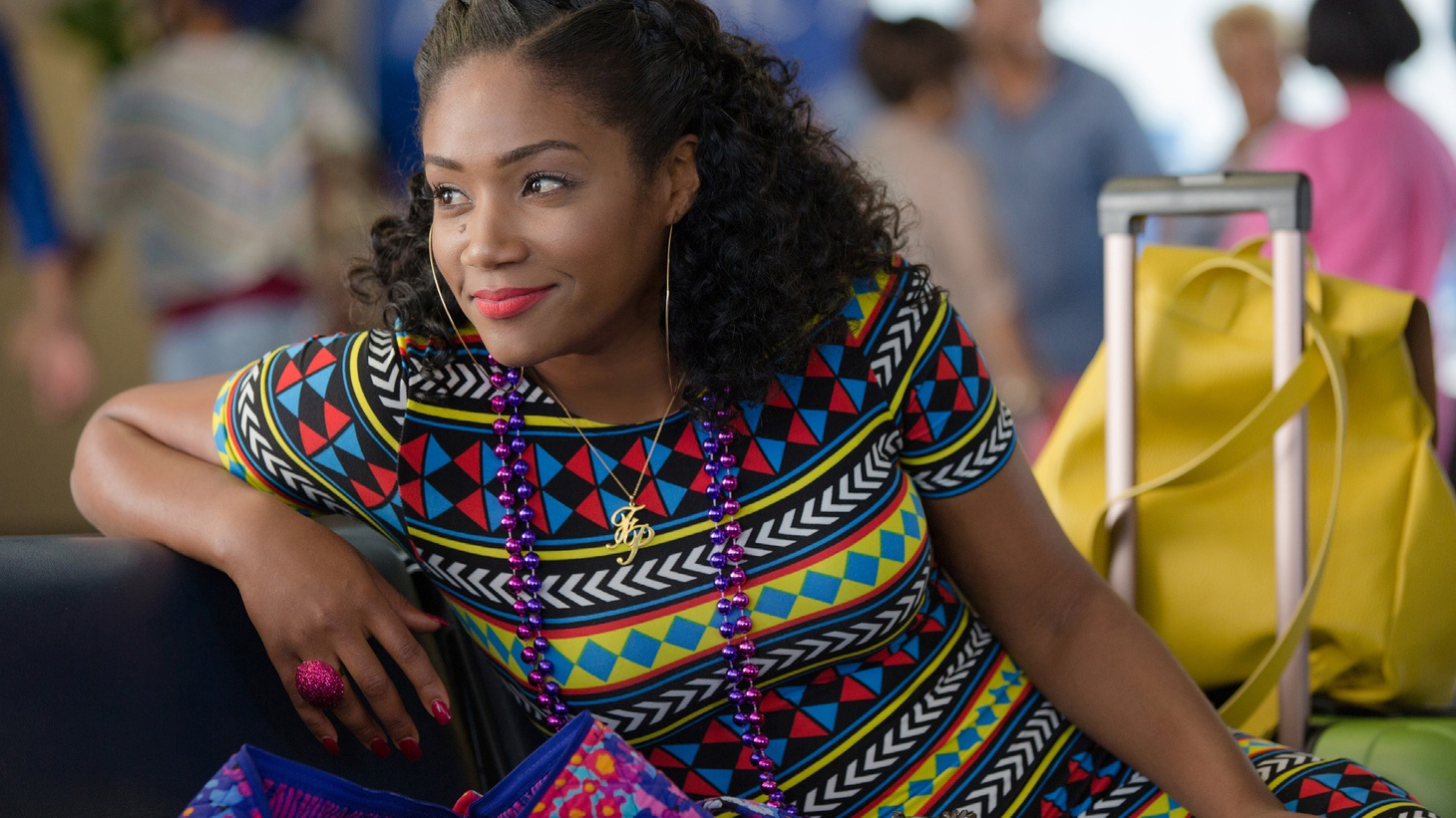Actress and comedian Tiffany Haddish is having a star-is-born moment with the raunchy comedy Girls Trip. Haddish says the movie has already changed her life, and she has big plans for where her career goes from here. Haddish and Girls Trip director Malcolm D. Lee tell us about filming during the actual Essence Festival and yes, a certain scene involving a grapefruit.