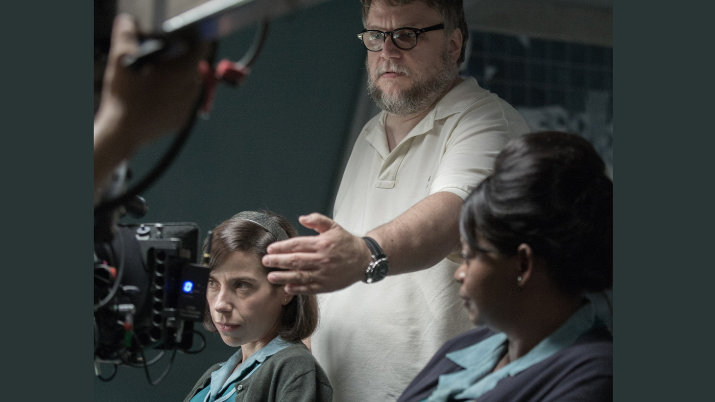 Guillermo del Toro's new film, The Shape of Water, is a visually stunning love story between a mute cleaning woman and an exotic sea creature. It looks expensive, but del Toro actually came in under his modest budget.