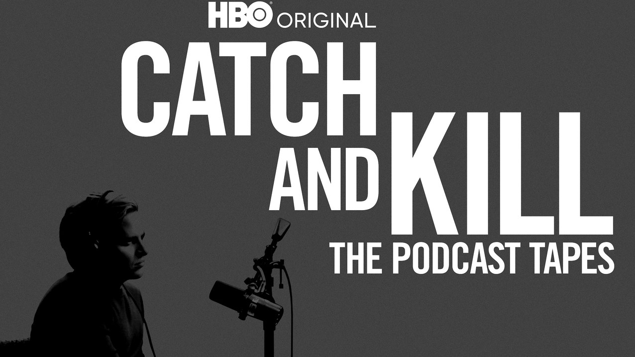 """""""Catch and Kill: The Podcast Tapes,"""" based on Ronan Farrow's podcast, is now streaming on HBO Max."""