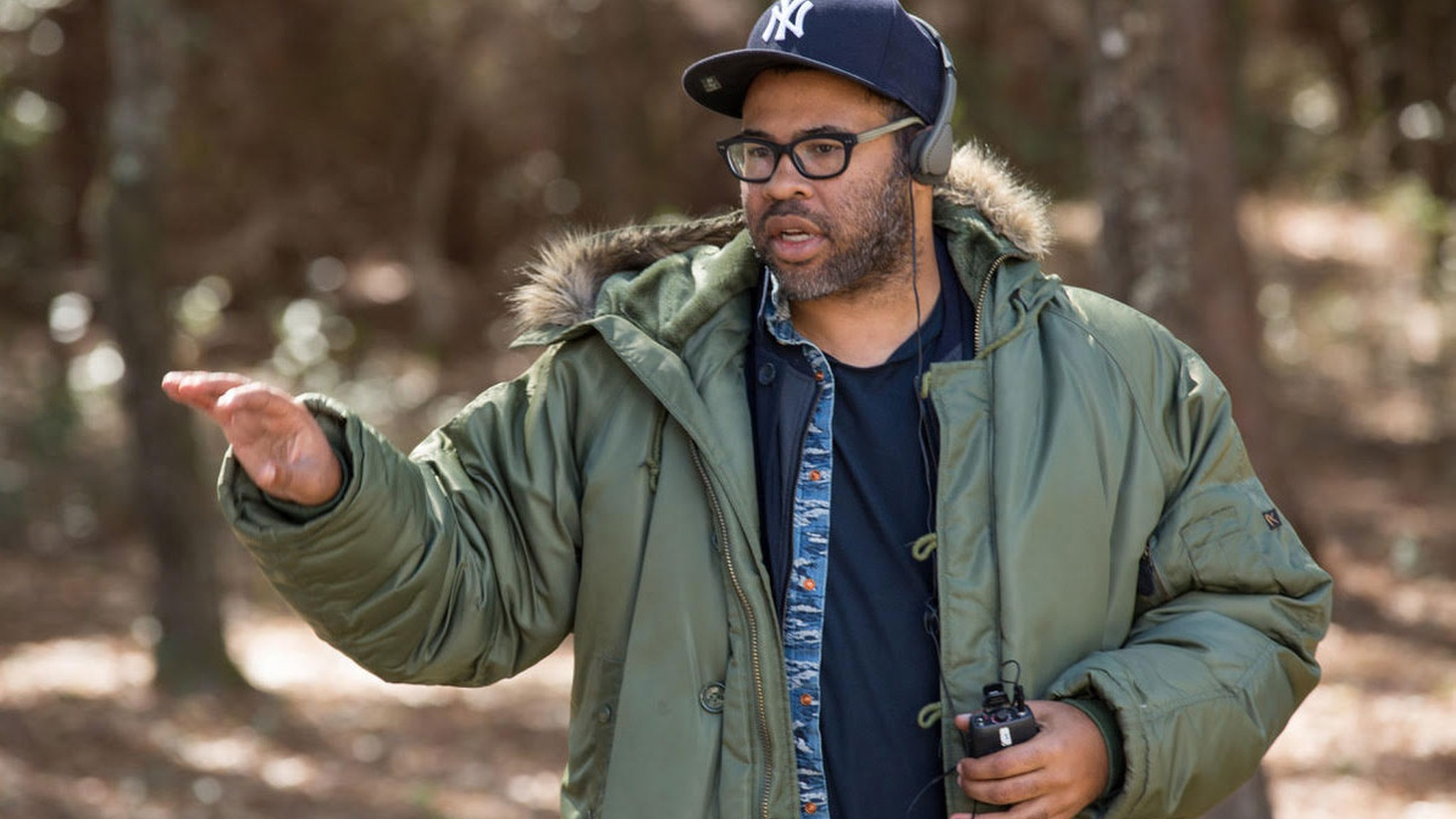 A year ago, a satirical horror film about race relations in America would not have sounded like an idea for a hit movie. But 'Get Out' was a box-office smash and it's nominated for 4 Oscars, including best picture.