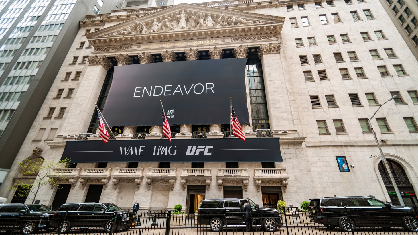 In April, The New York Stock Exchange was decorated for the initial public offering of the entertainment firm Endeavor. Now Ari Emanuel's company has issued its first earning report since going public.
