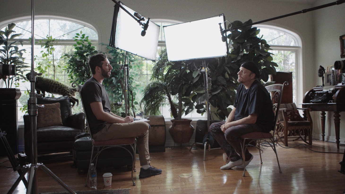 Director Ben Berman and Johnathan Szeles in 'The Amazing Johnathan Documentary,'