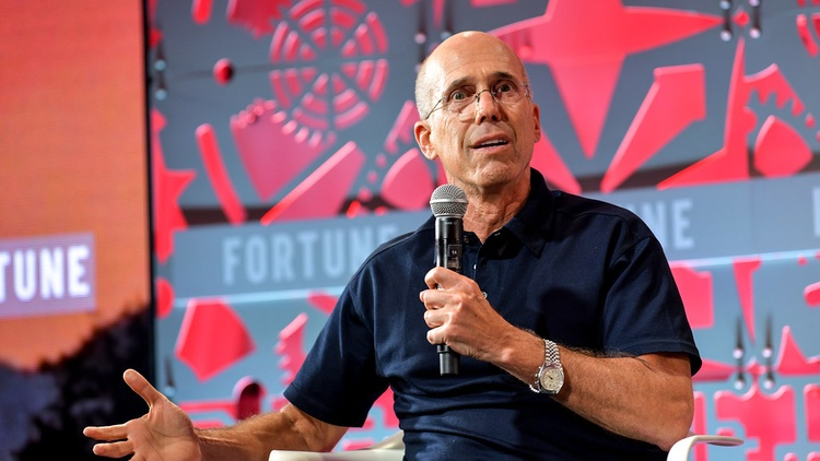 "Jeffrey Katzenberg ran Walt Disney Studios when it made hits like ""The Little Mermaid"" and ""The Lion King."" He also co-founded DreamWorks."