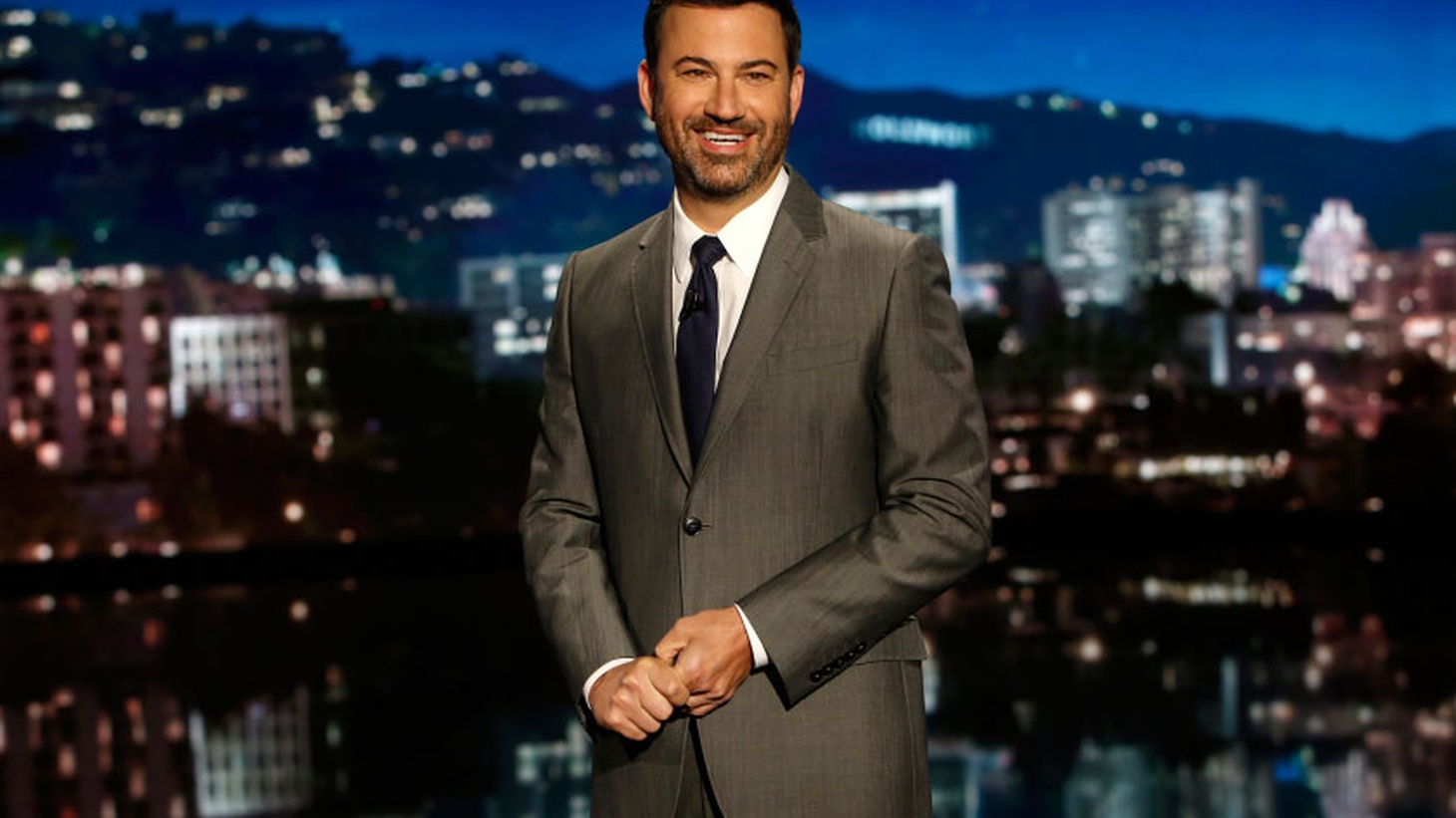 "Jimmy Kimmel Live! has been on ABC for almost 14 years, making Kimmel one of the ""grizzled veterans"" of late night. Kimmel tells us about the struggle of the early years of the show, accidentally creating the first late night viral video and his plan for hosting the upcoming Emmy awards."