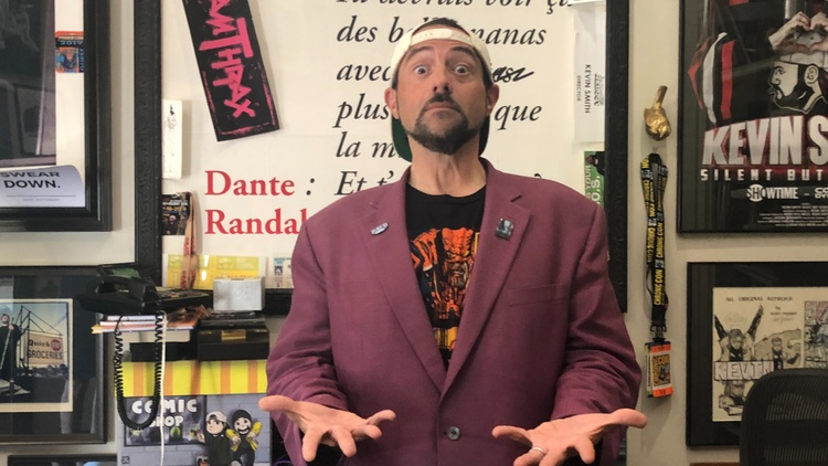 In Kevin Smith's new movie ' Jay and Silent Bob Reboot ' the title characters naturally find themselves with pot problems right off the bat, after authorities storm their makeshift…
