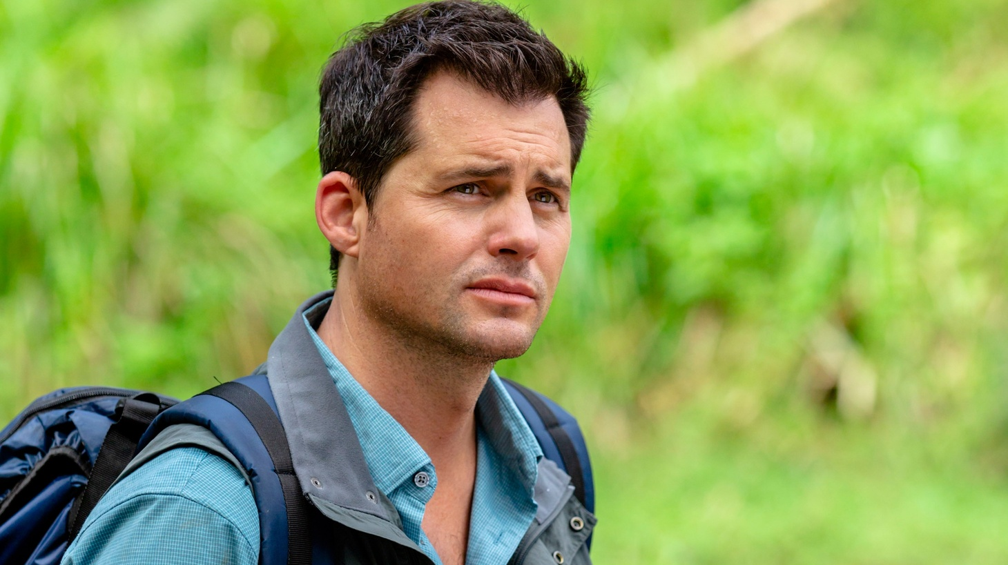 Actor Kristoffer Polaha in Fiji for the Hallmark movie 'Pearl in Paradise' Credit: Copyright 2018 Crown Media United States LLC