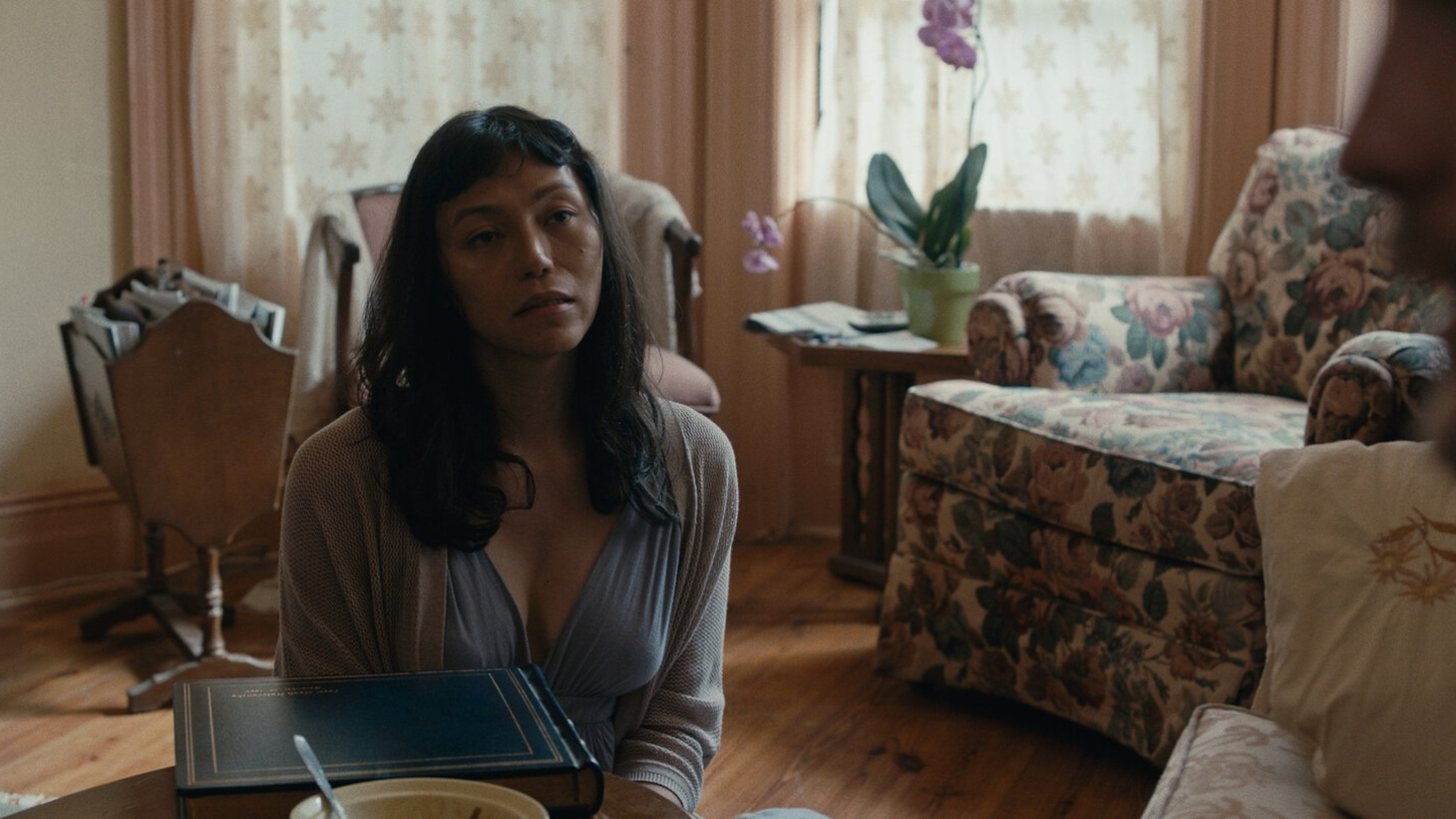 """Isabel Sandoval stars as Olivia in her film """"Lingua Franca,"""" now streaming on Netflix."""