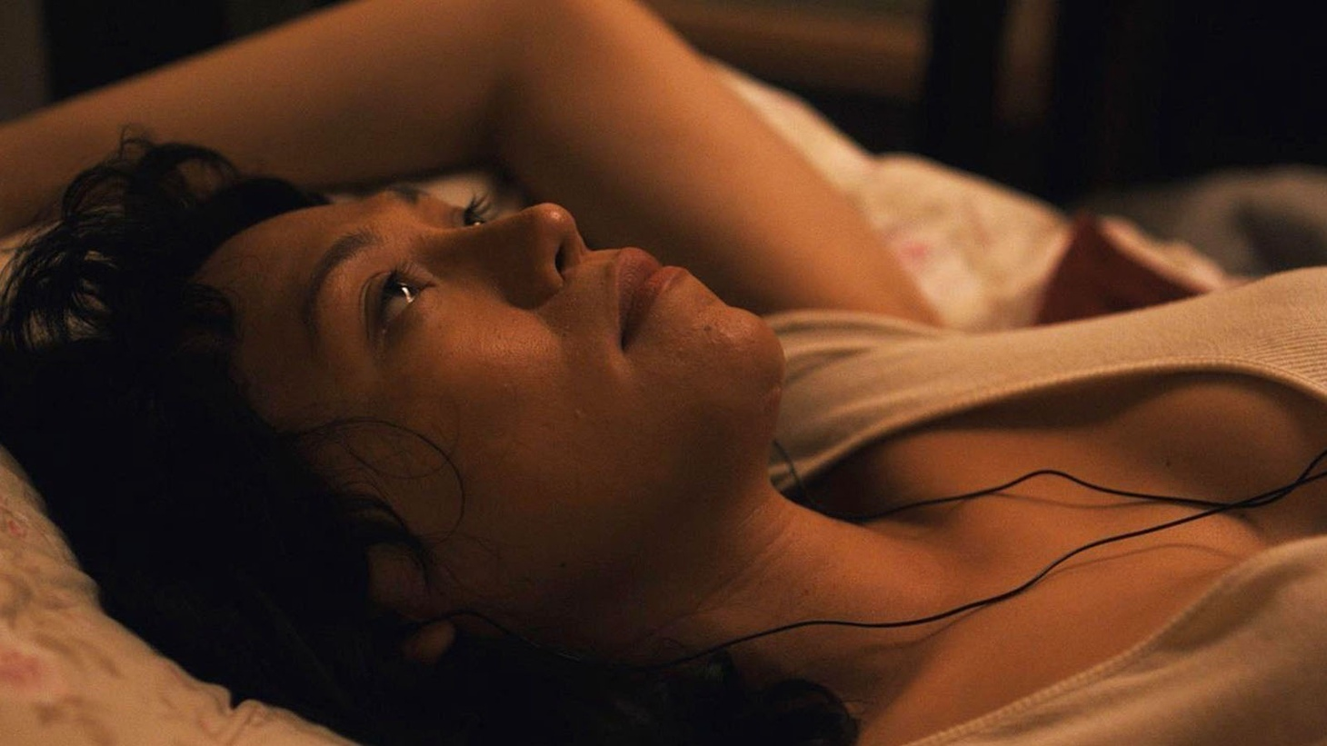 """Isabel Sandoval stars as Olivia, an undocumented trans caregiver looking to stay in the United Statess, in her new film """"Lingua Franca."""""""