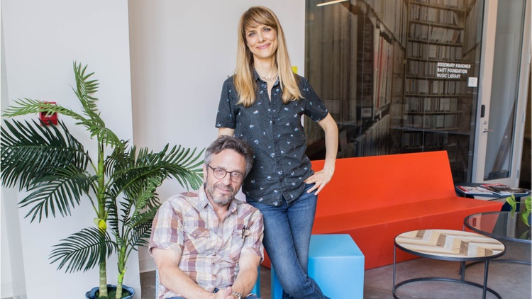 Lynn Shelton and Marc Maron on 'Sword of Trust'