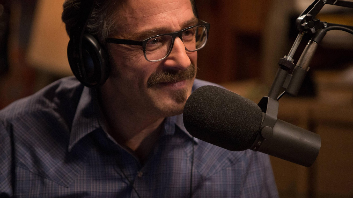 Marc Maron reinvigorated his lagging comedy career with his podcast WTF. Now he's translated that life into scripted TV comedy.